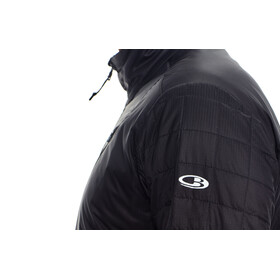 Icebreaker M's Helix LS Zip Black/Black/Black